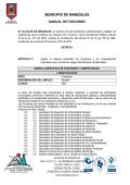 MUNICIPIO DE MANIZALES
