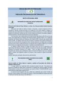 Síntesis Ejecutiva de Información Federación Iberoamericana del