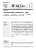 Surgical management of a giant retroperitoneal teratoma - revista