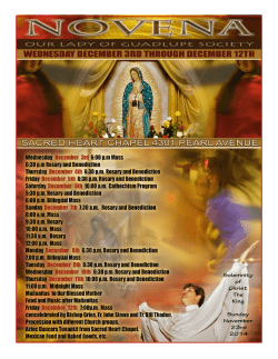 Sacred Heart Chapel - E-churchbulletins.com