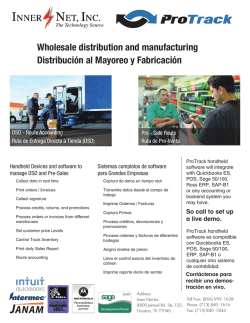 Wholesale distribution and manufacturing Distribución al Mayoreo y