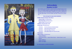 Dia de los Muertos Day of the Dead - Arts &amp