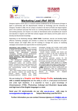 Marketing Lead (Ref: 0514)