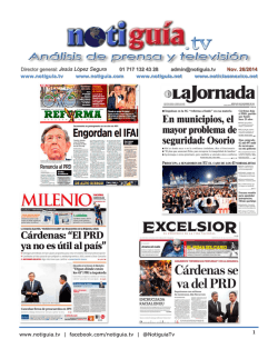 PDF de hoy - notiguia.tv