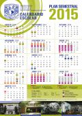 Calendario escolar UNAM 2015 -Plan semestral DGAE