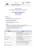UN (01) SOPORTE DE INFRAESTRUCTURA CÓDIGO - ONPE