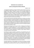 Declaración de la sociedad civil sobre las salvaguardas - Fundar