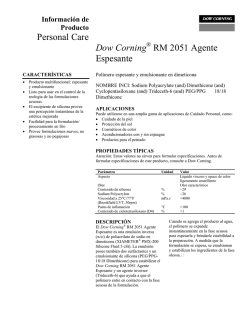 Dow Corning® RM 2501 Thickening Agent - Daltosur