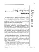 Exclusión, pobreza y derechos humanos en América Latina