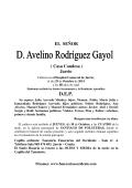 AVELINO RODRIGUEZ GAYOL - FOLGUERAS