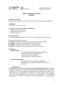 curso de posgrado - Facultad de Filosofía y Letras - Universidad