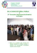 información del encuentro - Grupo DeO