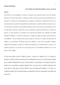 Presentación del Trabajo - Universidad Metropolitana de Caracas