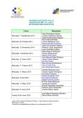 SESIONES DOCENTES 2013-14 - La Unidad Docente