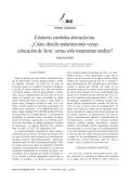 Estenosis carotídea aterosclerosa. ¿Cómo decidir - edigraphic.com