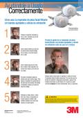 Cómo usar su respirador de pieza facial filtrante con bandas - 3M