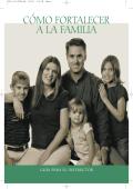 CÓMO FORTALECER A LA FAMILIA