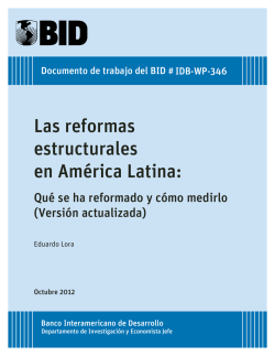 Versión actualizada - Inter-American Development Bank