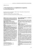 ¿Cómo diagnosticar el cumplimiento terapéutico en - SAMFyC