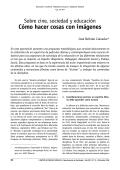 Cómo hacer cosas con imágenes - Facultad de Ciencias Sociales