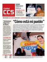"""""""Cómo está mi pueblo"""" - Ciudad CCS"""