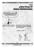 ¿Cómo Pensar II? LÓGICA PROPOSICIONAL - ISMA