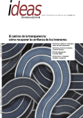 El camino de la transparencia: cómo recuperar la confianza - PwC