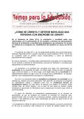 ¿CÓMO SE ORIENTA Y OBTIENE MOVILIDAD UNA - Retinosis.org