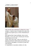 ¿CÓMO LLAMA DIOS - Autores Catolicos