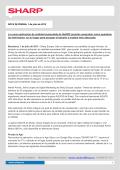 Nota de Prensa - Sharp