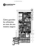Cómo guardar los alimentos en casa de una manera segura