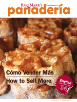 How to Sell More Cómo Vender Más - BakeMark