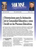 Orientaciones para la Animación de la Comunidad Educativa y
