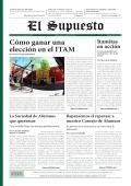 Cómo ganar una elección en el ITAM - El Supuesto