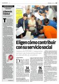 Eligen cómo contribuir con su servicio social - Tecnológico de
