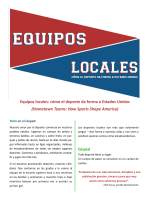 Equipos locales: cómo el deporte da forma a Estados Unidos