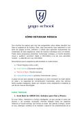 CÓMO ESTUDIAR MÚSICA - Yago School