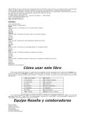 Cómo usar este libro Equipo Reseña y colaboradores - Ediciones