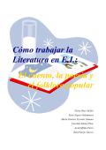 CÓMO TRABAJAR LA LITERATURA EN E.I.