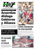 Un tornado asoló el Litoral Cómo interpretar la crisis - Diario Hoy