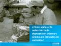 ¿Cómo acelerar la reducción de la desnutrición crónica y - Unicef