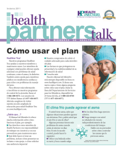 Cómo usar el plan - Health Partners Plans