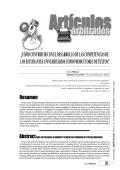¿CÓMO CONTRIBUIR CON EL DESARROLLO DE - Saber ULA