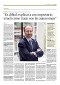 """""""Es difícil explicar a un empresario israelí cómo - Cámara Zaragoza"""
