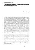 """""""NO CONGELARÁS LA IMAGEN"""". O CÓMO NO - Bruno Latour"""