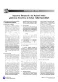 NOVEDADES WEB Impuesto Temporal a los Activos Netos ¿Cómo