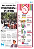 Cómo enfrentar la sobrepoblación en Santiago - Papel Digital