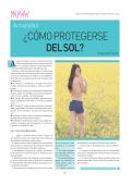 ¿CÓMO PROTEGERSE DEL SOL? - Noticias Net