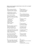 Mide los versos de las siguientes estrofas, di cómo es su rima y di si