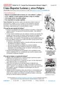 Cómo Reportar Lesiones y otros Peligros - Gempler's